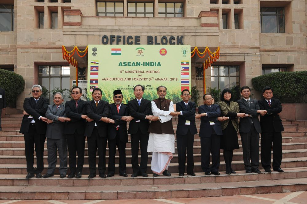 India and Southeast Asian nations commit to climate smart