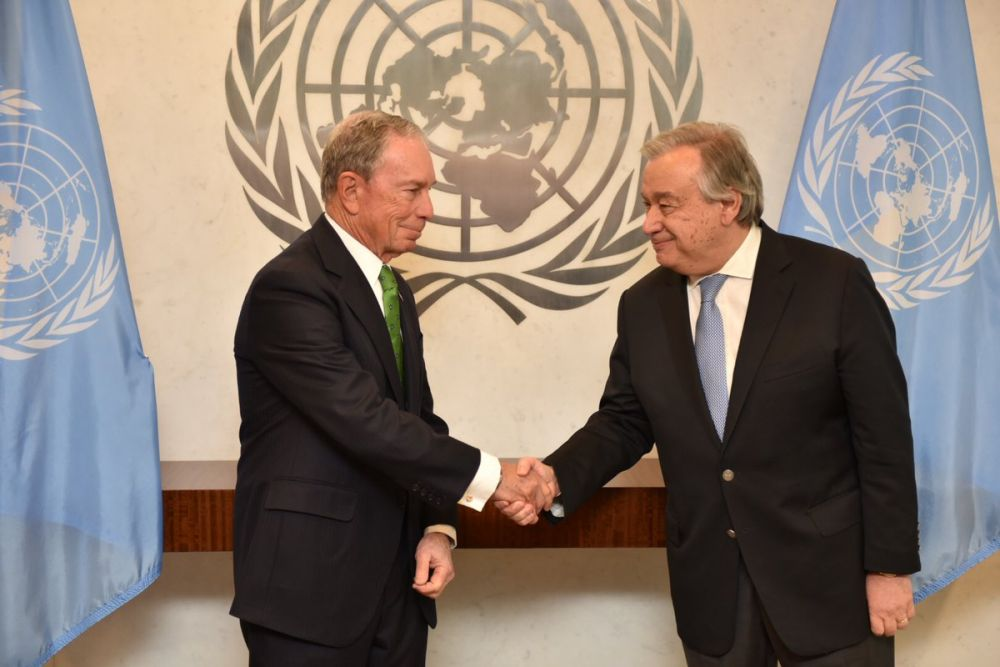 Michael Bloomberg lands top UN role to accelerate climate