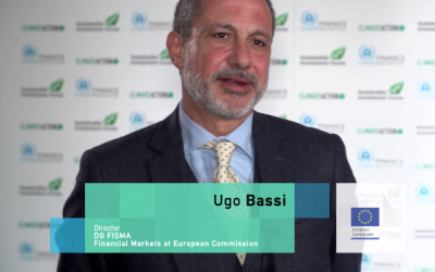 Ugo Bassi at the European Commission talks about the future of sustainable finance
