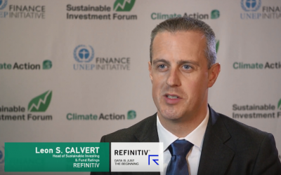 Interview with Leon Saunders Calvert, Refinitiv, SINV NA