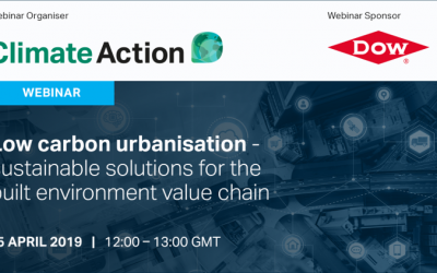 Low carbon urbanisation – sustainable solutions for the built environment value chain