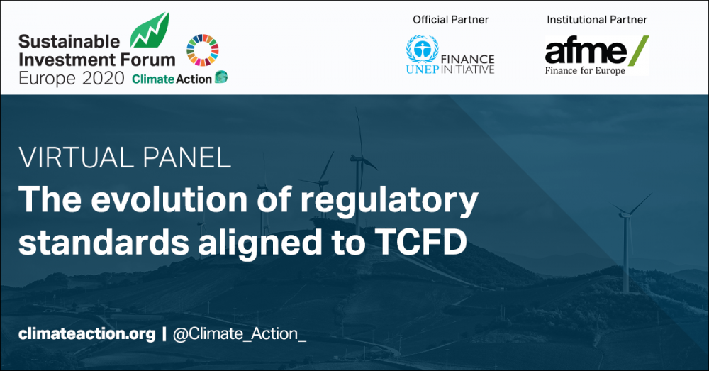 The evolution of regulatory standards aligned to TCFD