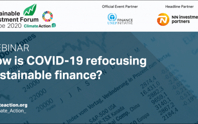 How is COVID-19 refocusing sustainable finance?