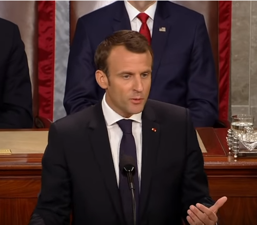 Macron Tells Trump And Us Congress There Is No Planet B Climate Action