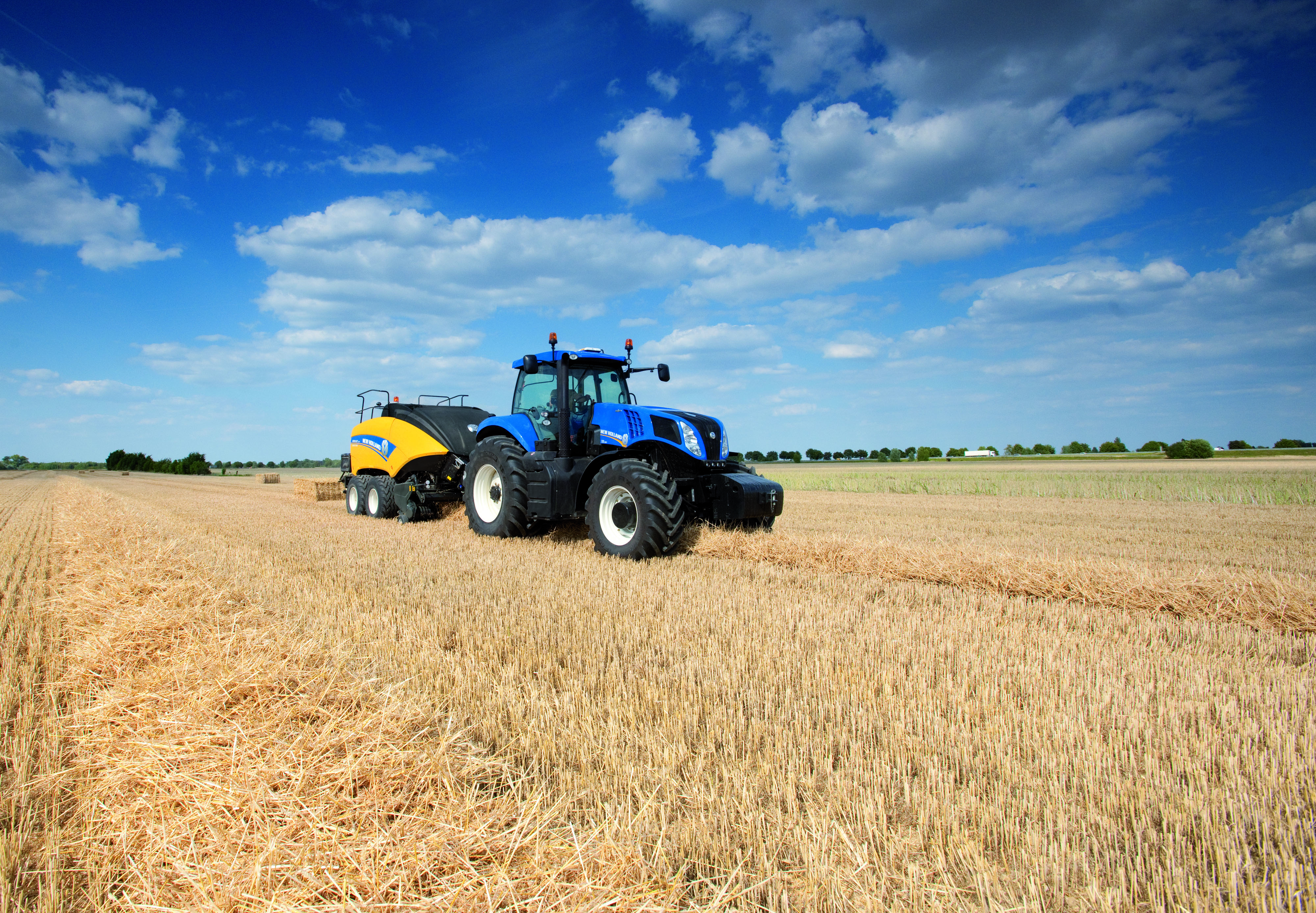 New Holland has introduced the next generation BigBaler - Climate Action