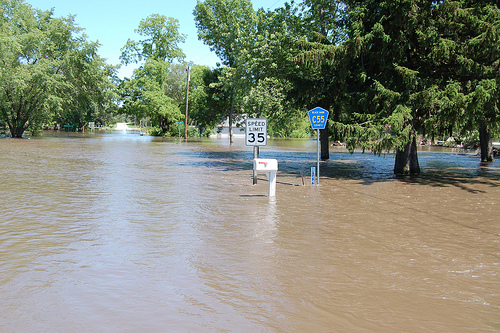 '1 in 100 year' floods will become more frequent